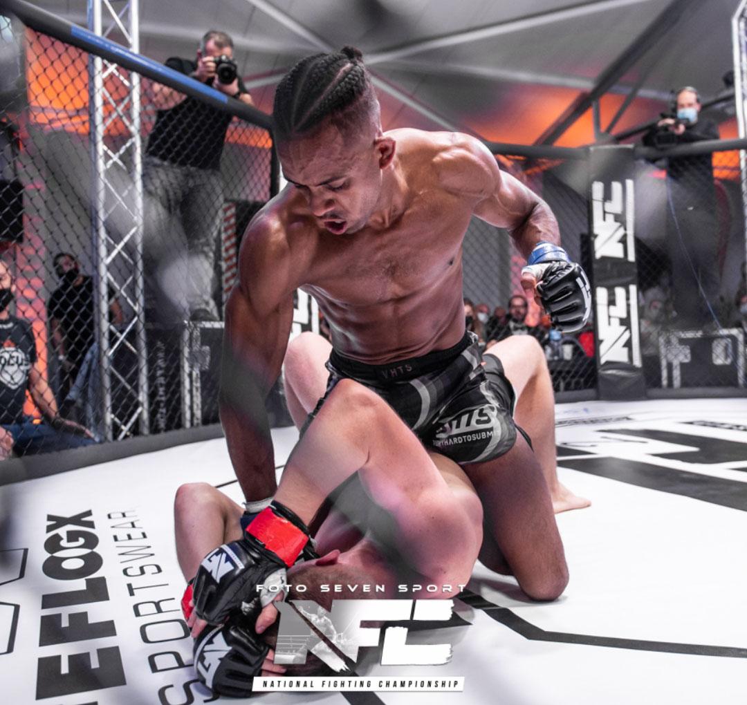 Mixed Martial Arts Mount position